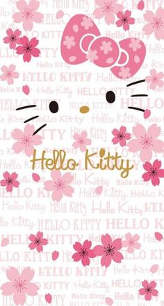 Birthday Background Wallpapers Pink Hello Kitty 64 Ideas For 2019 Images Hello Kitty, Hello Kitty Themes, Pink Hello Kitty, Hello Kitty Birthday, Sanrio Hello Kitty, Hello Kitty Iphone Wallpaper, Hello Kitty Backgrounds, Sanrio Wallpaper, Birthday Background Wallpaper