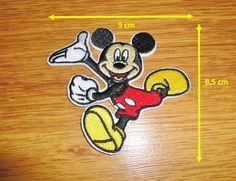 Termo Naszywka Lata Aplikacja Myszka Miki Enamel Pins