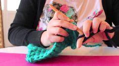 DIY: Cómo hacer un mitón con crochet
