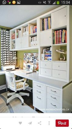 Desks can be so expensive, but these amazing DIY Ikea desk hacks will give you a stylish workspace on a small budget! I am obsessed with number 2 and home diy projects 14 Inspiring Ikea Desk Hacks You Will LOVE Home Office Space, Home Office Design, Home Office Decor, Office Ideas, Office Furniture, Office Workspace, Small Office, Furniture Design, Furniture Ideas