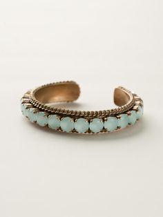 Quintessential Woven Cuff Bracelet in Riverstone - Sorrelli