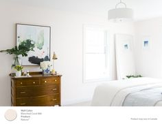 Final color choice: Blanched Coral from Benjamin Moore's Natura Paint [ad]