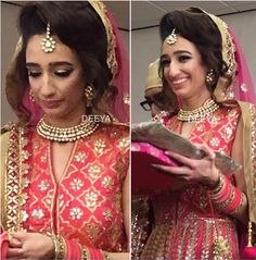 Real Bride - Rajinder. Wearing Kundan Jewellery from Deeya Jewellery which can be worn at any occasion. Customise sets to colours of your choice. Contact Deeya Jewellery on Whatsapp or viber to purchase or enquire on 00447545228167. Worldwide delivery. www.deeya.co.uk