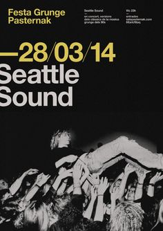 Seattle Sound Poster | Flickr - Photo Sharing!