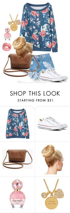 """""""cool chic"""" by katherine679 ❤ liked on Polyvore featuring Levi's, Converse, Marc Jacobs and Kate Spade"""