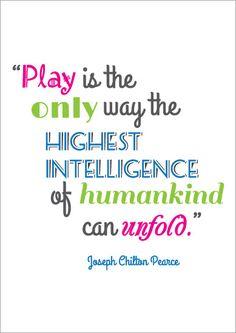 Inspirational Quotation Poster: Joseph Chilton Pearce