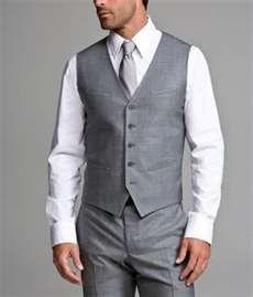 except with a black shirt underneath *groom (groomsmen wear no vest or tie)