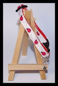 Ladybird Cat Collar Cat Collars, Material Design, Creatures, Etsy Shop, Homemade, Cats, Fun, Gatos, Hand Made
