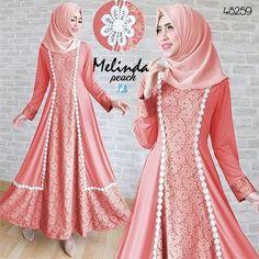 melinda maxi  dusty, Rp135rb, tgn pjg, pinggang blkg karet, spandex korea, kombi brukat, no pashmina, ld 90 smp 100 pjg 136 lb 280 berat 600gram  contact us  FB fanpage: Toko Alyla  line@: @alylagamis  WA: 0812-8045-6905    toko online baju muslim  gamis murah  hijab murah  supplier hijab  konveksi gamis  agen jilbab