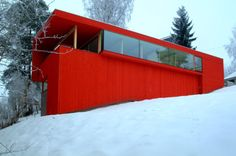 Red house in Olso