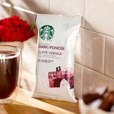 Caffè Verona® Portion Packs | Starbucks® Store. Get Free Shipping on Orders Over $75 Starbucks Coupon, Starbucks Store, Starbucks Coffee, Italian Roast, Coffee Store, Chocolate Truffles, Nutritious Meals, Keurig, Verona