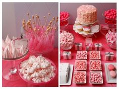 lovely pink themed party