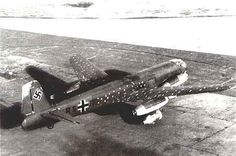 Junkers Ju 287.  The unfinished second and third Junkers Ju 287 prototypes, which far more accurately reflected the design of the eventual production bomber, were captured by the Red Army in the closing stages of World War II and the design was further developed in the Soviet Union after the end of the war.