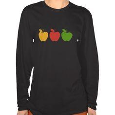 Yellow Red Green Apple T Shirt, Hoodie Sweatshirt