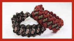 "Paracord Bracelet: ""Snake Virus"" Bracelet Design Without Buckle"