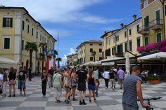 Lazise - Gardasøen - Mange spændende butikker, Restauranter og Cafe'er