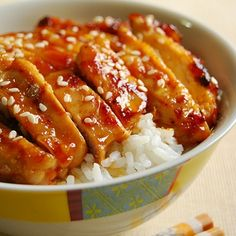 Honey sriracha chicken. This is really good and really easy to make.  Only a few ingredients.  Marinade it all day or overnight.  I greatly increased all ingredients because original recipe makes very little marinade. ~ MLB