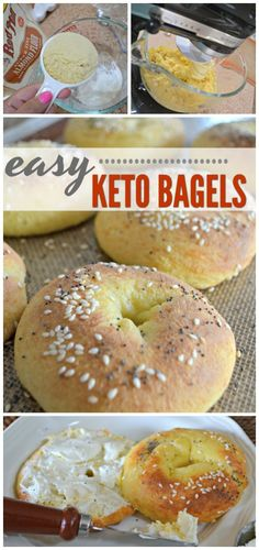 These Easy Keto Bagels Recipe Are Only 5 Net Carbs! - Hip2Keto