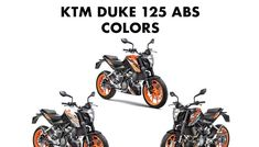 KTM has launched the much-awaited an most affordable KTM yet. The all new KTM Duke 125 is available in 3 colors options: Orange, White and Black. New Ktm, Ktm Duke, Orange Color, Product Launch, Colors, Black, Black People, Colour, Color