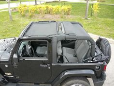 Sun screen is for all 2007-up JK Wrangler 2 door. It is a two piece sun screen that covers the front and rear seats
