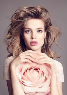 Natalia Vodianova for Guerlain Bloom of Rose Fall 2015 Collection