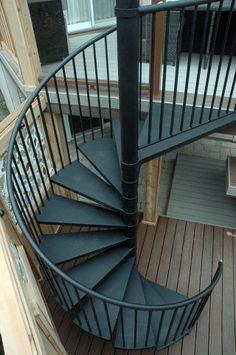 Наглядно Винтовая лестница Идея (43)