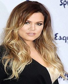 Ombre #T4-18 (Chocolate Brown to Blonde) - 160 gram hair extensions