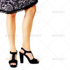 Closeup of Legs and Heels (attractive, background, beautiful, beauty, black, blond, blonde, body, caucasian, clothes, clothing, cute, dress, elegance, elegant, fashion, fashionable, feet, female, feminine, girl, glamour, gorgeous, heels, hot, human, isolated, lady, legs, lifestyle, luxury, model, modern, party, people, person, portrait, pretty, shoes, studio, style, stylish, white, woman, young, youth)