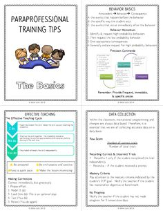 Paraprofessional training FREEBIE Fashion is part of Special education teacher - Paraprofessional training FREEBIE … Paraprofessional training FREEBIE Co Teaching, Teaching Special Education, Classroom Organization, Classroom Management, Educational Assistant, Self Contained Classroom, Staff Training, Training Tips, Teachers Aide