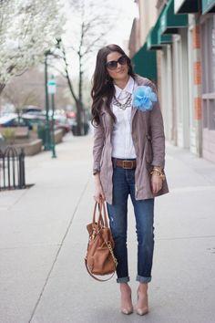 casual shopping wear