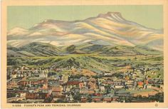 Vintage Colorado Postcard Views