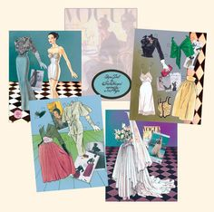 Vogue 1947 paper doll by Jim Howard