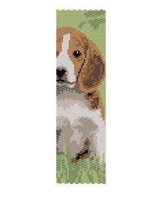Beagle Peyote Pattern by MyCraftAsylum on Etsy