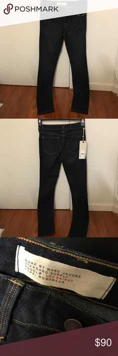 e29a92807f68 Marc Jacobs Lou Skinny Jeans Size 25 Brand new with tag dark blue skinny  jeans from