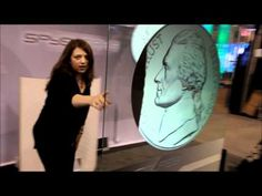 Here is a demonstration of the glass touch screen display presented by Spyeglass at this years InfoComm.