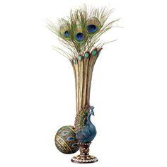 Design Toscano KY1034 Peacock Bud Vase Design Toscano http://www.amazon.com/dp/B007KD3Y4E/ref=cm_sw_r_pi_dp_eFwwvb1TKHA2V
