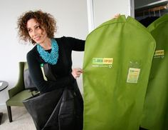 Green Garmento is a reuseable, recycled dry cleaning bag. Entrepreneurs Rick Siegel & Jennie Nigrosh pitch the Sharks on their green business in episode 415