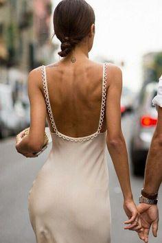Beautiful slip dress for spring #dresses #fashion Parisian Chic, Evening Dresses, Formal Dresses, Short Dresses, Dress To Impress, Pacsun, Dress Me Up, Everyday Fashion, Blogging