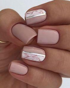 Bridal Nails Designs, Bridal Nail Art, Pink Nail Designs, Cute Acrylic Nails, Cute Nails, Gel Nails, Shellac, Nail Polish, Coffin Nails