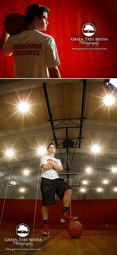 And of course you want to highlight the sport you love! Garrett plays guard for the LSA basketball team so we had some fun getting some unique images for his senior photos in the gym :)
