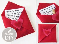 felt envelope