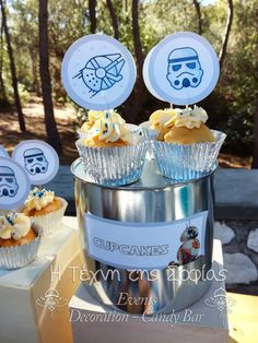 Candy Bar Βάπτισης με θέμα Star Wars. Candy Bar Star Wars Themed Baptism. | Star  Wars Baptism Bάπτιση με θέμα Star Wars | Pinterest
