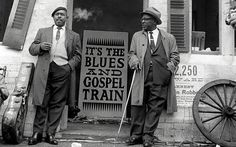 Sonny Terry (right) and Brownie McGhee in 1964 - Rex Features