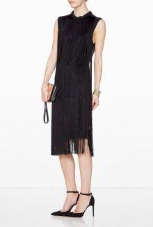 By Malene Birger ajala fringed sleeveless dress