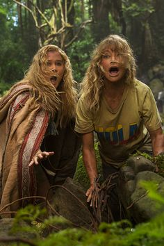 Amy Schumer and Goldie Hawn in the Amazon… what could go wrong? See Snatched in theaters Mother's Day weekend!