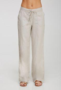 Pantalón Lino Cordón - Ver todo - 2000057517 - Forever 21 EU