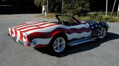 Patriotic Corvette