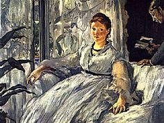 La lecture, Edouard Manet -