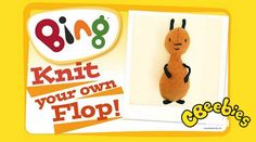 We all love how calm Flop is - the perfect companion for Bing... and you can make your own Flop here with knitting instructions for a great CBeebies make! This would make a great gift for a Bing fan!