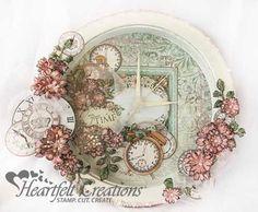 Floral Altered Clock